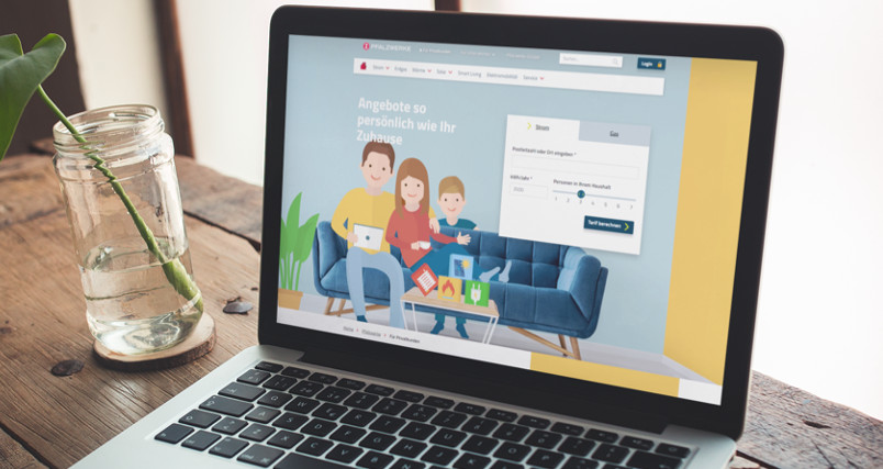 Pfalzwerke Digital Service Platform
