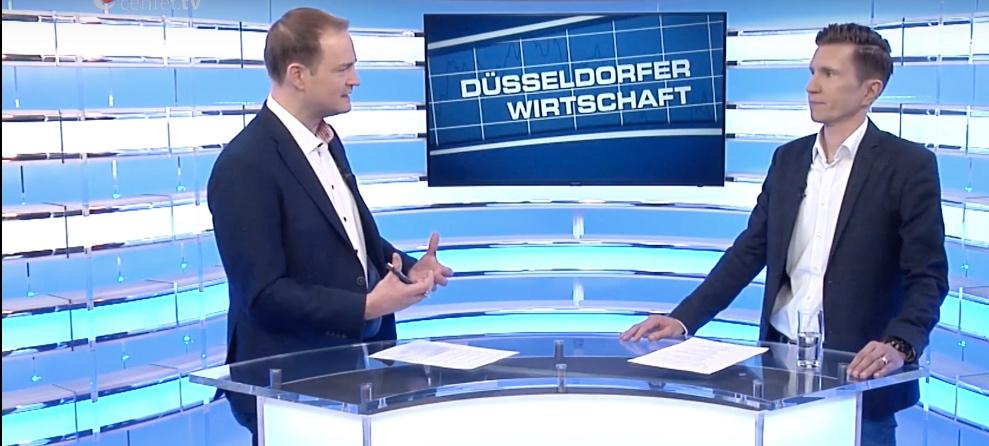 """TV-Interview zum Thema """"Digitale Transformation"""""""