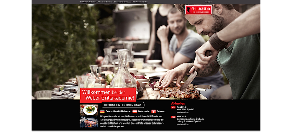 Weber Grill – Grill Academy Booking E-Shop
