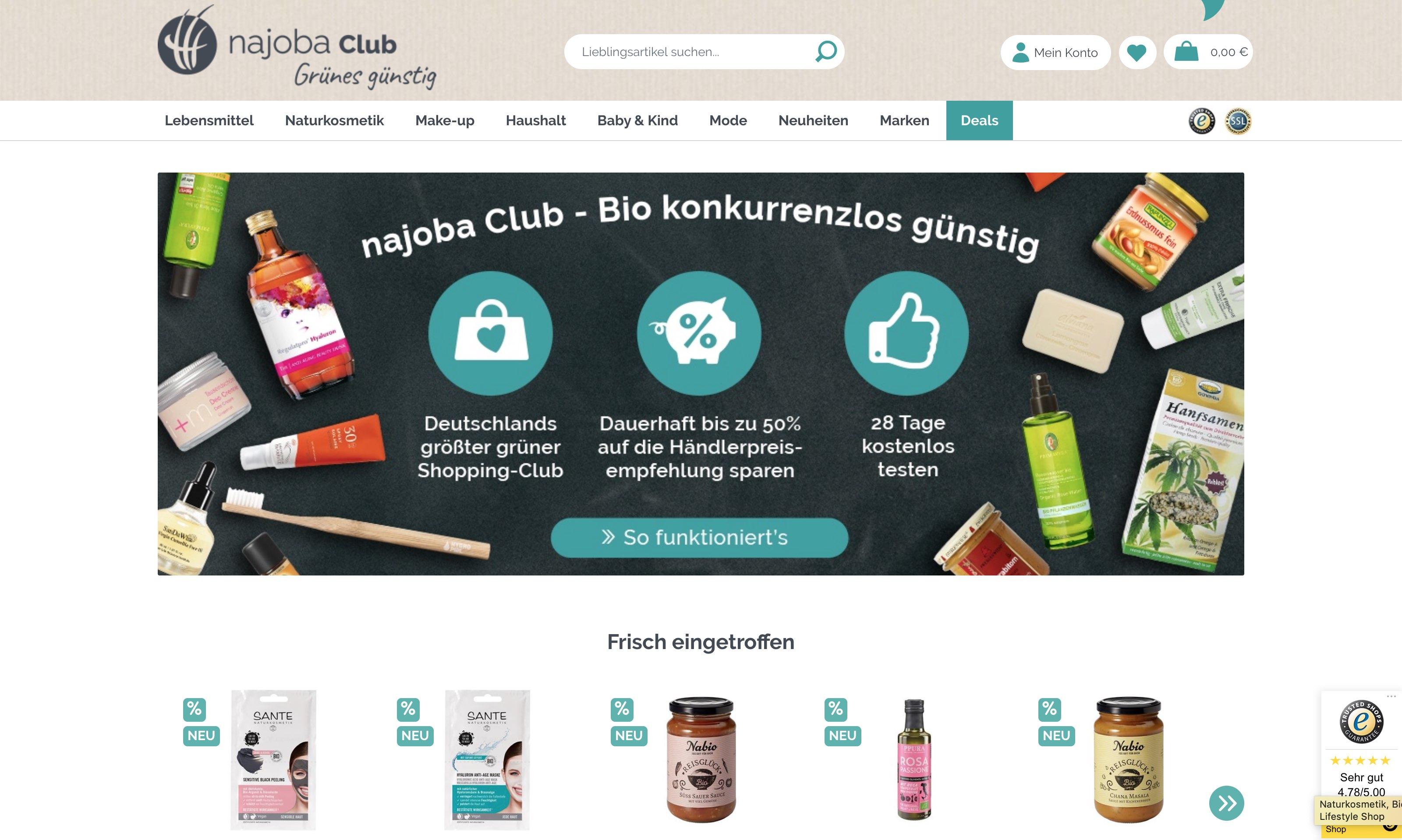 Najoba.de E-Shop